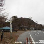 峠の茶屋バス停(草軽交通)