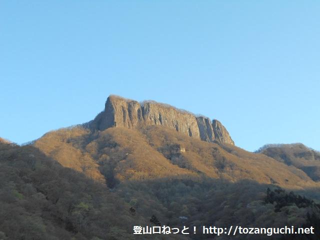 下仁田町方面から見る荒船山