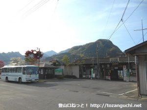 下仁田駅(上信電鉄)、下仁田駅バス停(南牧バス)