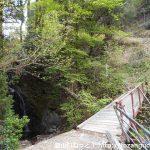 黒瀧山の下底瀬登山口の小さな橋