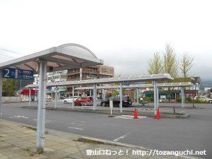西武秩父駅バス停(西武観光バス)