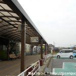 新町駅バス停(日本中央バス)
