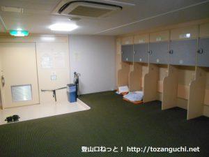 阪九フェリーの2等船室