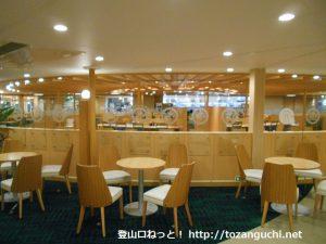 阪九フェリーのレストラン