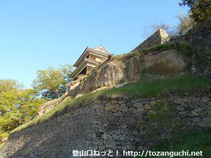 上田城(下から)
