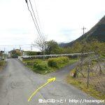 武州中川駅から若御子神社に行く途中の道