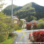 武州中川駅から若御子神社に行く途中で左折するところ