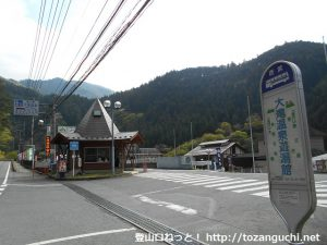 大滝温泉游湯館バス停(西武観光バス)