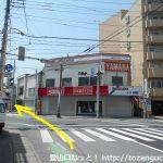 小川町駅前西の交差点