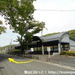 東武竹沢駅の西口から右に進む