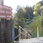 伊豆ヶ岳・正丸峠の登山口に正丸駅から歩いてアクセスする方法