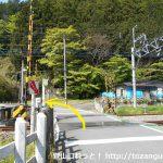東吾野駅北側の踏切
