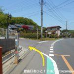 日和田山の登山口入口