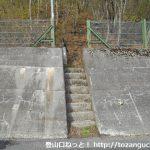 国道17号線の大般若塚の登り口