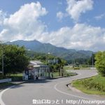 松川バス停(高速バスの松川インターバス停)