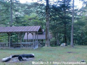 鳥ヶ池キャンプ場(長野県大鹿村)