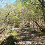 茂来山の槇沢登山口手前の林道