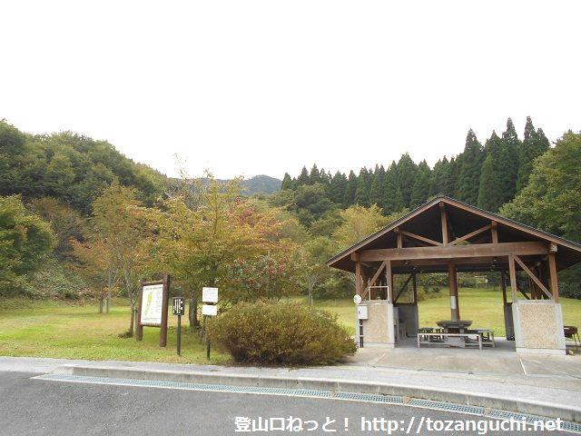 田浪キャンプ場(新庄村)