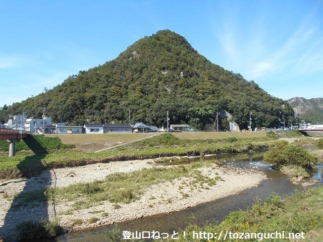 金剛川から見る和気富士