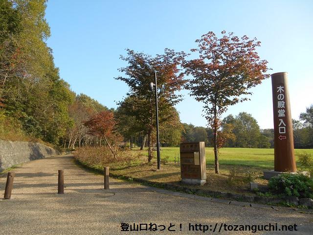 木の殿堂の入口