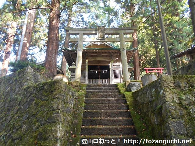 作山地区の八幡神社