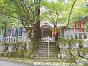 三川権現社の本殿