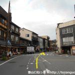城崎温泉駅から北に進む