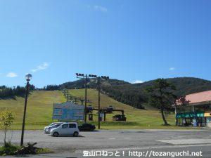 国道186号線の傍示峠にある大佐スキー場