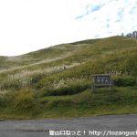 雲月山の登山口 雲月峠と展望台下駐車場にアクセスする方法
