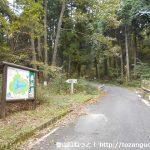 県道421号線の矢多田北登山口前