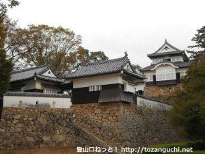 備中松山城の天守閣