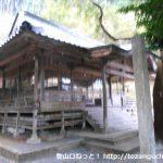 千磐神社の本殿