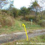 蘇武岳の大糠コースのスタート地点