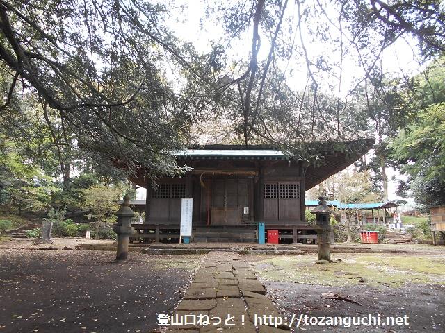 赤野観音堂の本堂