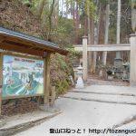 七面山の登山口(表・裏参道)にバスでアクセスする方法