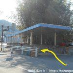 名電長沢駅から国道1号線の交差点に出たところの地下道入口