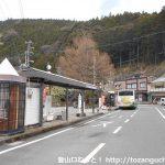 千頭駅前バス停(大井川鉄道)