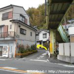 県道396号線から旧東海道の方に進む