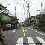 薩埵峠に向かう途中の旧東海道
