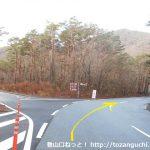 本栖湖畔の県道709号線
