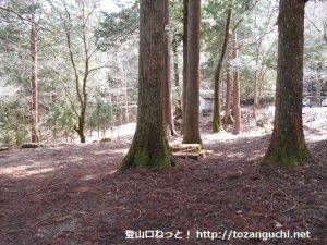 檜峯神社のキャンプ場