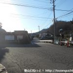 西川バス停(都留市内循環バス)
