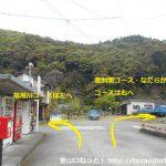 福用駅前の車道
