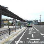 三河田原駅バス停(豊鉄バス)
