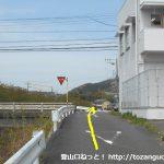 三河田原駅から滝頭公園に向かう途中の辻その2