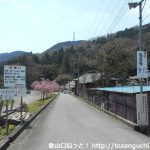 松田町ふれあい動物村の入口前