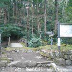 最乗寺の明神ヶ岳登山口