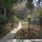 三国山の登山口 向坂の箱根旧街道入口にアクセスする方法