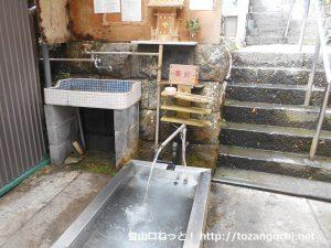 水神社の水