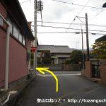 神谷駅前から県道22号線に出て左折